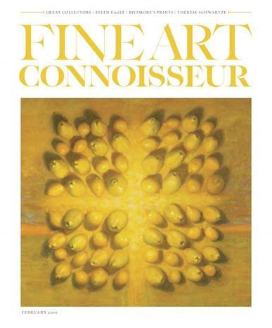 Fine Art Connoisseur (Digital) January 1st, 2016 Issue Cover