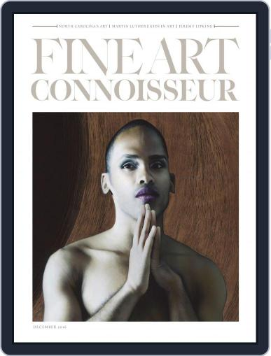 Fine Art Connoisseur (Digital) October 31st, 2016 Issue Cover