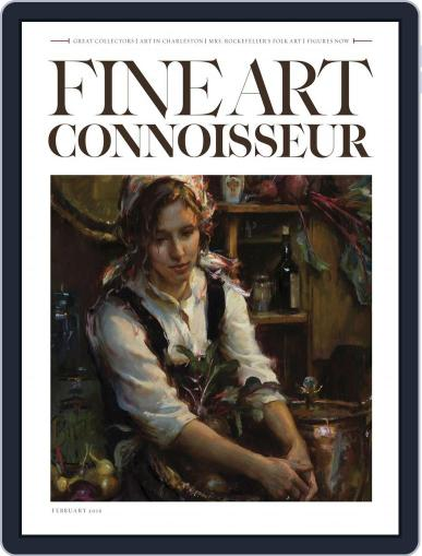 Fine Art Connoisseur (Digital) January 1st, 2017 Issue Cover