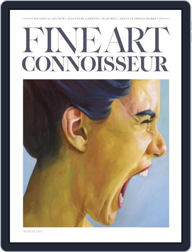 Fine Art Connoisseur (Digital) July 1st, 2017 Issue Cover