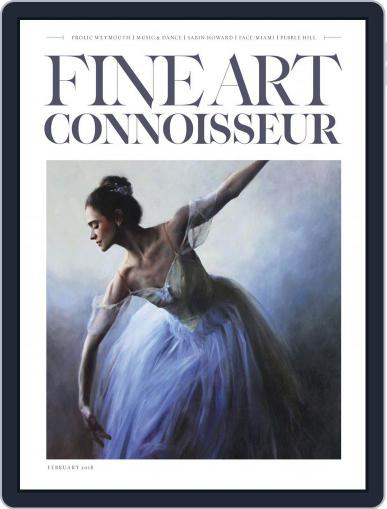 Fine Art Connoisseur (Digital) January 1st, 2018 Issue Cover