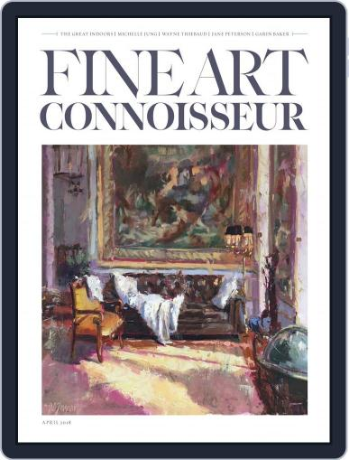 Fine Art Connoisseur (Digital) March 1st, 2018 Issue Cover
