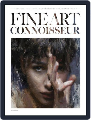 Fine Art Connoisseur (Digital) June 1st, 2018 Issue Cover