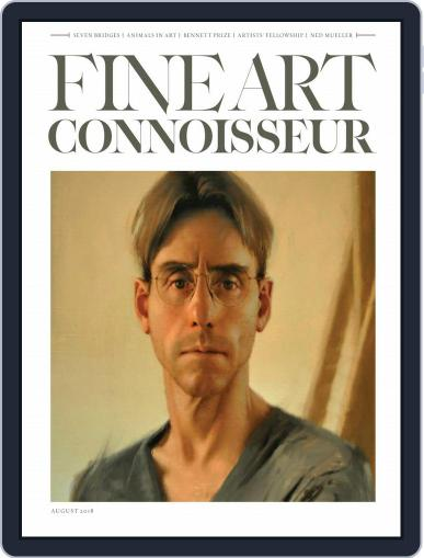 Fine Art Connoisseur (Digital) August 1st, 2018 Issue Cover