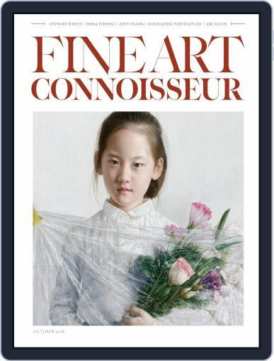 Fine Art Connoisseur (Digital) September 1st, 2018 Issue Cover