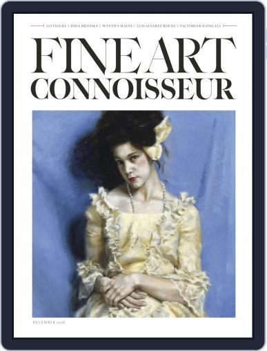 Fine Art Connoisseur (Digital) November 1st, 2018 Issue Cover