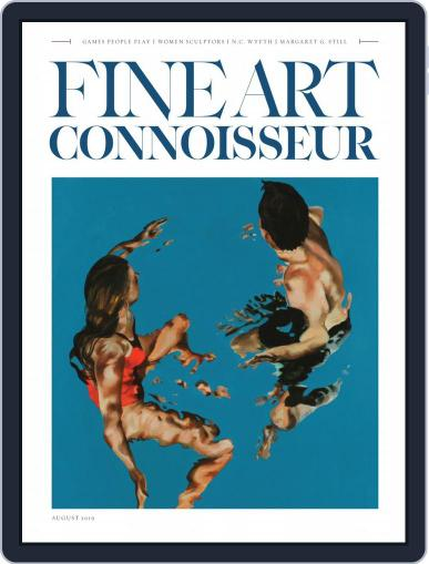 Fine Art Connoisseur (Digital) July 1st, 2019 Issue Cover