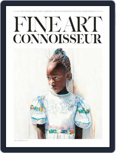Fine Art Connoisseur (Digital) November 1st, 2019 Issue Cover