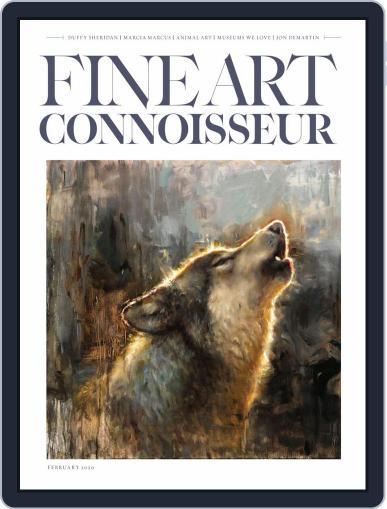 Fine Art Connoisseur (Digital) January 1st, 2020 Issue Cover