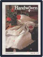 Handwoven (Digital) Subscription March 1st, 1982 Issue