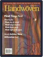 Handwoven (Digital) Subscription November 1st, 1999 Issue