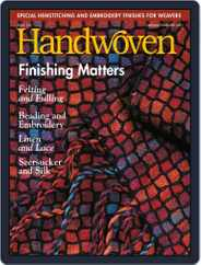 Handwoven (Digital) Subscription January 1st, 2001 Issue