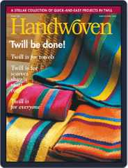 Handwoven (Digital) Subscription March 1st, 2001 Issue