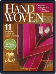 Handwoven (Digital) Subscription October 6th, 2014 Issue