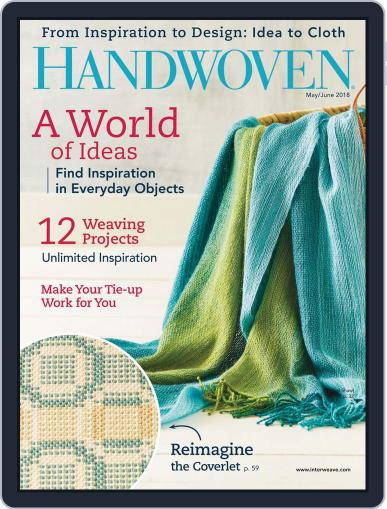 Handwoven (Digital) May 1st, 2018 Issue Cover