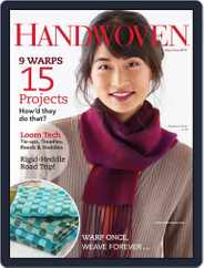 Handwoven (Digital) Subscription May 1st, 2019 Issue