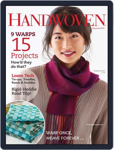 Handwoven May 1st, 2019 Digital Back Issue Cover
