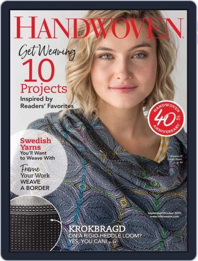 Handwoven (Digital) September 1st, 2019 Issue Cover