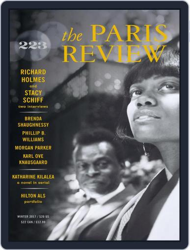 The Paris Review December 1st, 2017 Digital Back Issue Cover