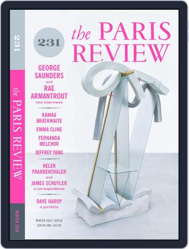 The Paris Review December 1st, 2019 Digital Back Issue Cover