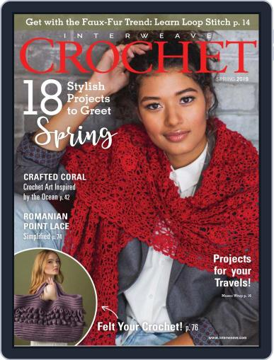Interweave Crochet February 14th, 2019 Digital Back Issue Cover