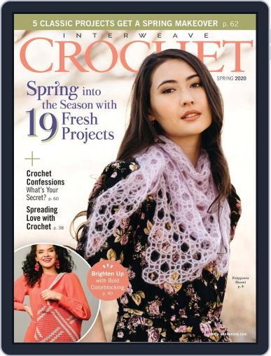 Interweave Crochet February 13th, 2020 Digital Back Issue Cover