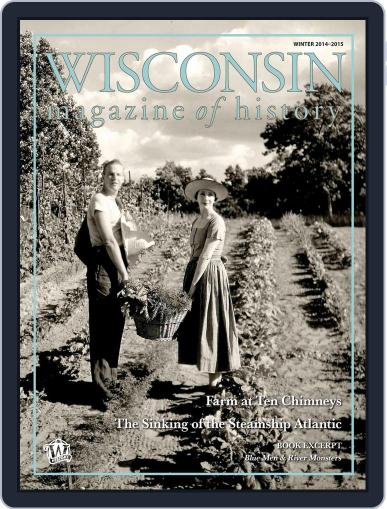 Wisconsin Magazine Of History (Digital) December 1st, 2014 Issue Cover
