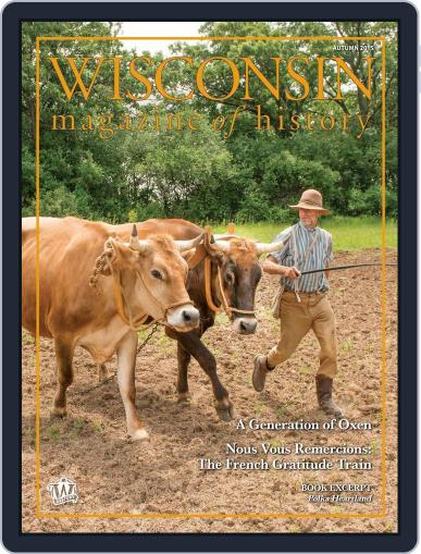 Wisconsin Magazine Of History (Digital) September 1st, 2015 Issue Cover