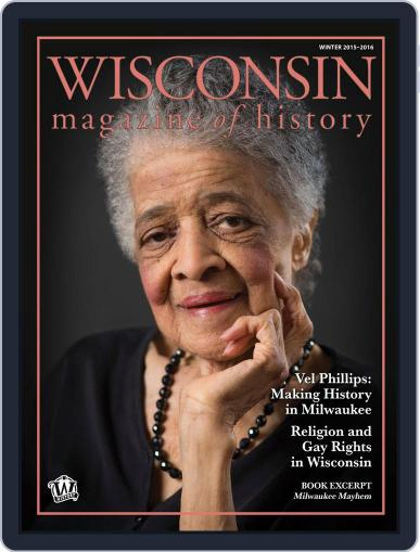 Wisconsin Magazine Of History (Digital) December 1st, 2015 Issue Cover