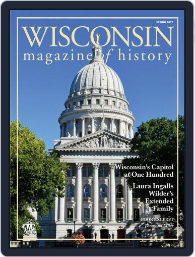 Wisconsin Magazine Of History (Digital) February 1st, 2017 Issue Cover