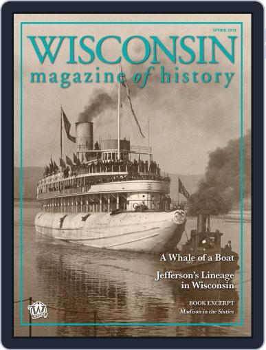 Wisconsin Magazine Of History March 1st, 2019 Digital Back Issue Cover