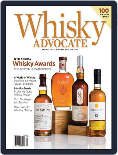 Whisky Advocate February 25th, 2013 Digital Back Issue Cover