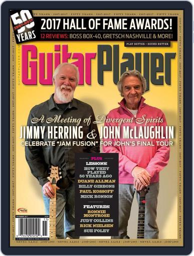 Guitar Player November 1st, 2017 Digital Back Issue Cover