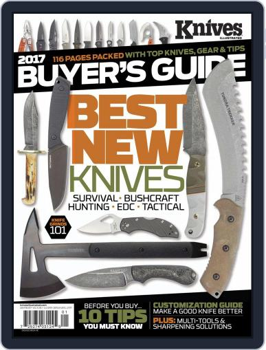 Knives Illustrated (Digital) January 1st, 2017 Issue Cover