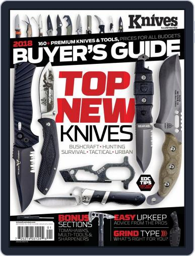 Knives Illustrated (Digital) January 1st, 2018 Issue Cover