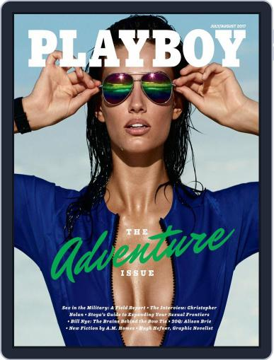 Playboy July 1st, 2017 Digital Back Issue Cover