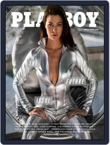 Playboy March 1st, 2018 Digital Back Issue Cover
