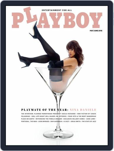 Playboy May 1st, 2018 Digital Back Issue Cover