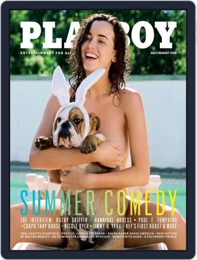Playboy July 1st, 2018 Digital Back Issue Cover