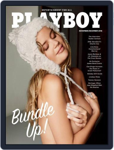 Playboy November 1st, 2018 Digital Back Issue Cover