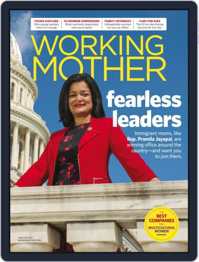 Working Mother (Digital) June 1st, 2017 Issue Cover