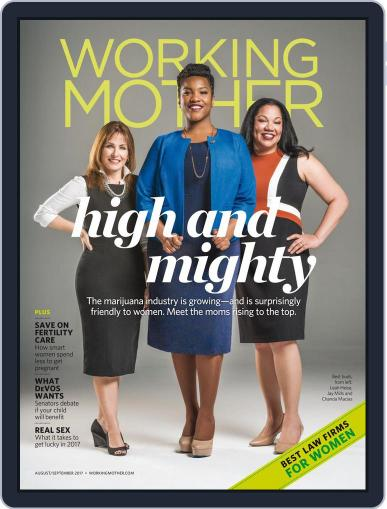 Working Mother (Digital) August 1st, 2017 Issue Cover
