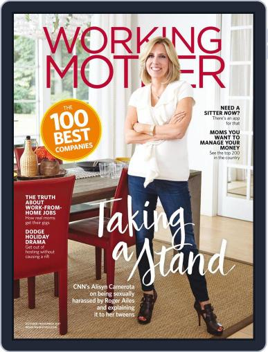 Working Mother (Digital) October 1st, 2017 Issue Cover
