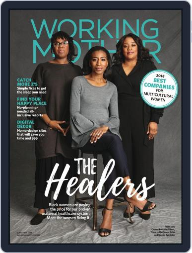 Working Mother (Digital) June 1st, 2018 Issue Cover