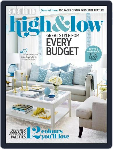 Style at Home Special Issues (Digital) August 4th, 2017 Issue Cover