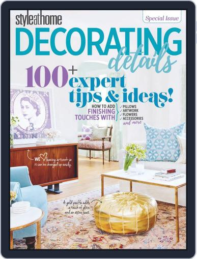 Style at Home Special Issues (Digital) October 6th, 2017 Issue Cover