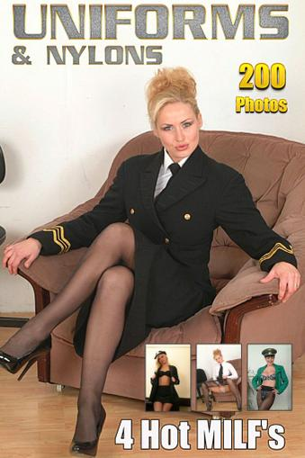 Sexy Uniform Adult Photo January 1st, 2017 Digital Back Issue Cover