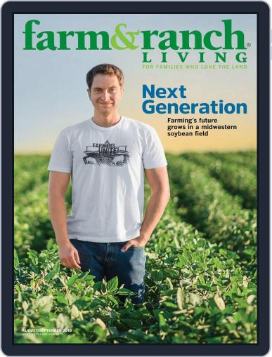Farm and Ranch Living (Digital) August 1st, 2018 Issue Cover