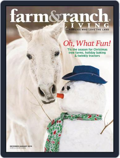 Farm and Ranch Living (Digital) December 1st, 2018 Issue Cover
