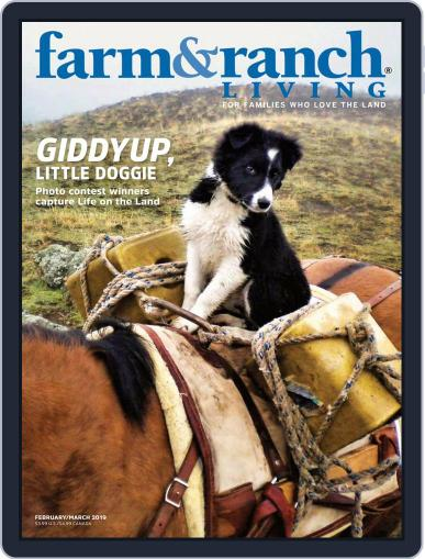 Farm and Ranch Living (Digital) February 1st, 2019 Issue Cover